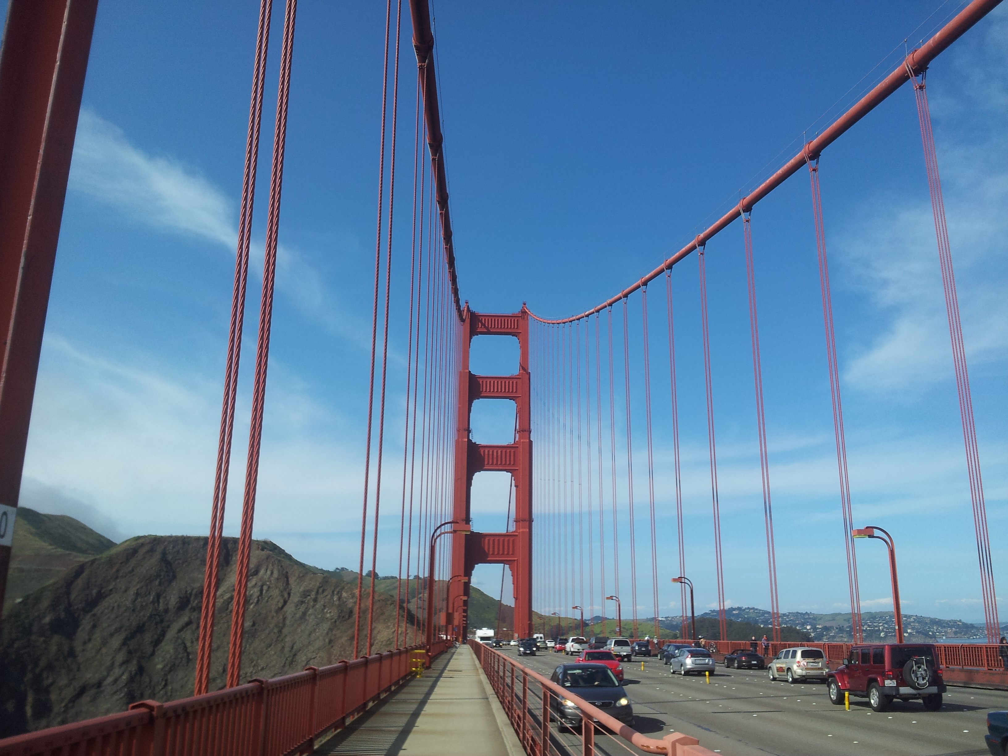 Biking the Golden gate was amazing! This photo really does it no justice either...