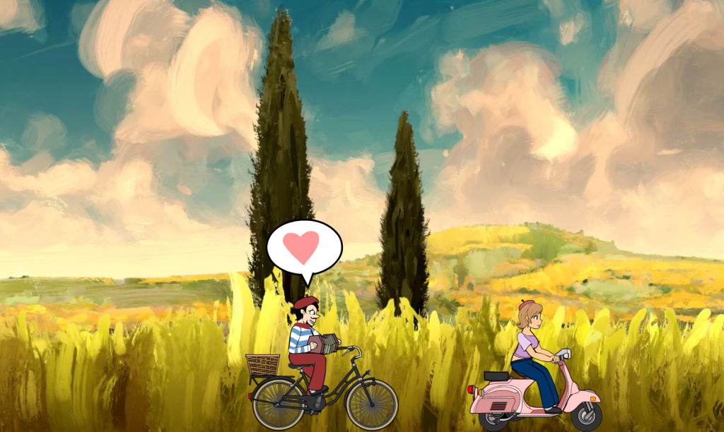 Kongregate GameJam! French Bike.